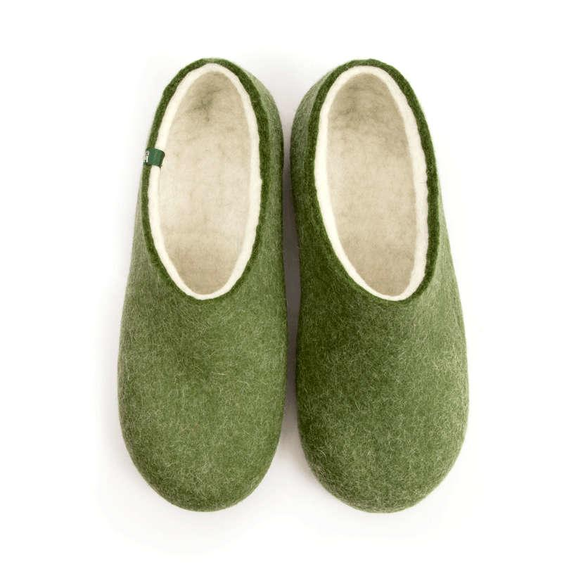 House slippers BLISS olive green