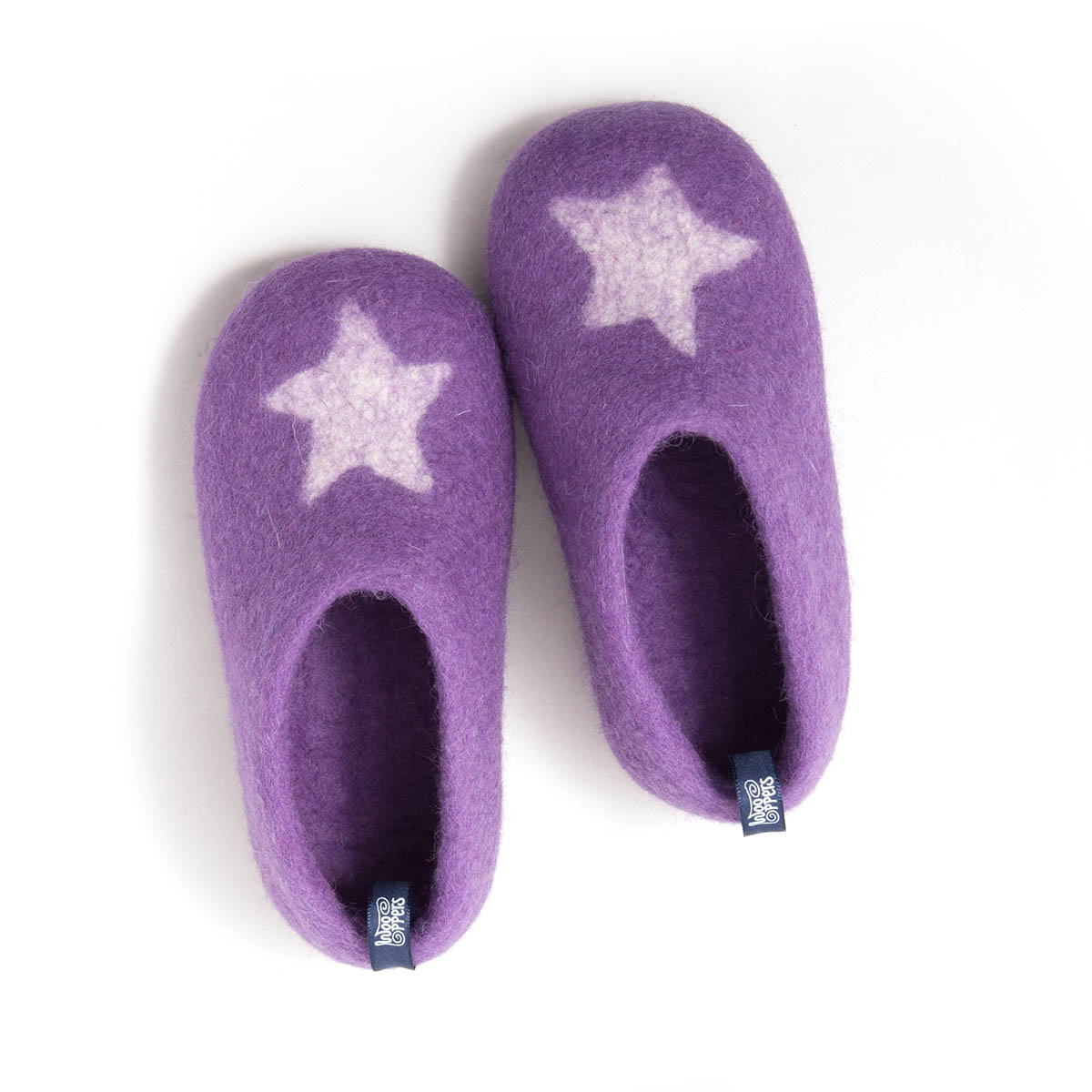 Kids + toddler shoes STAR lilac