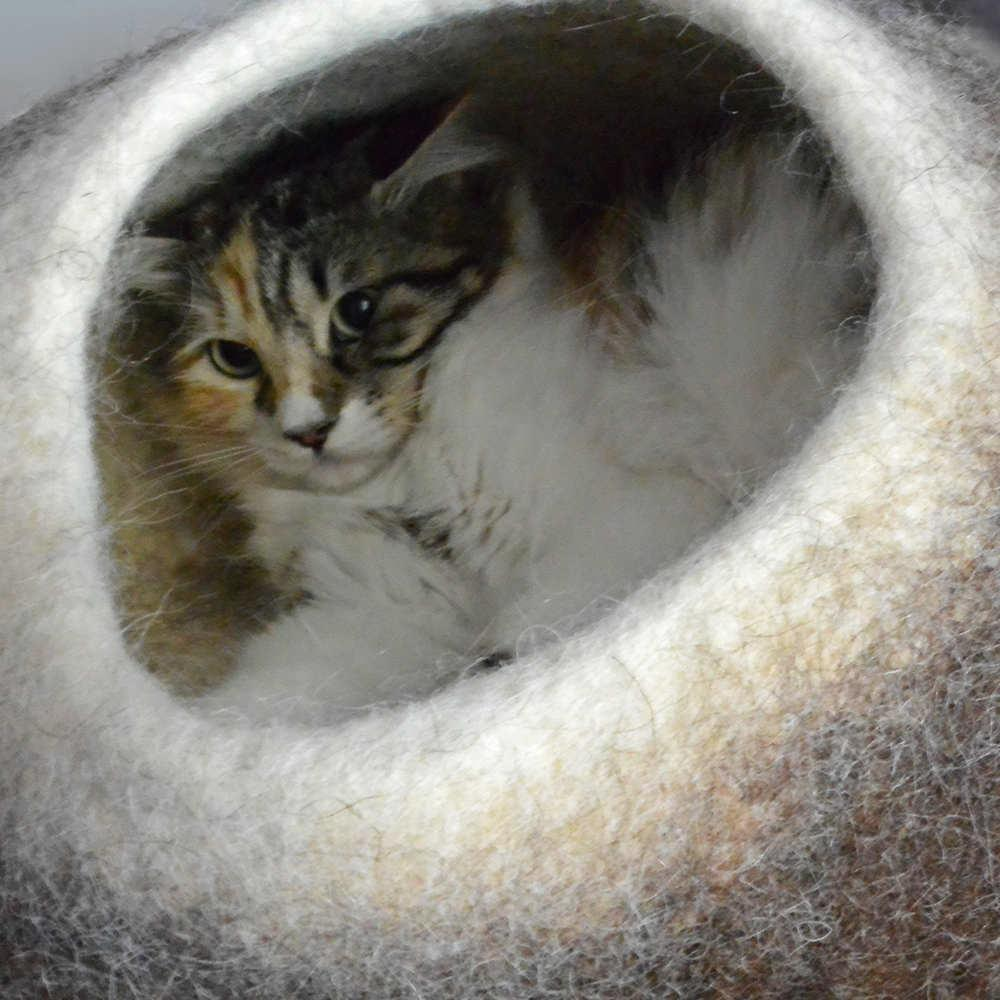 Pet beds by Wooppers your cat can feel it!