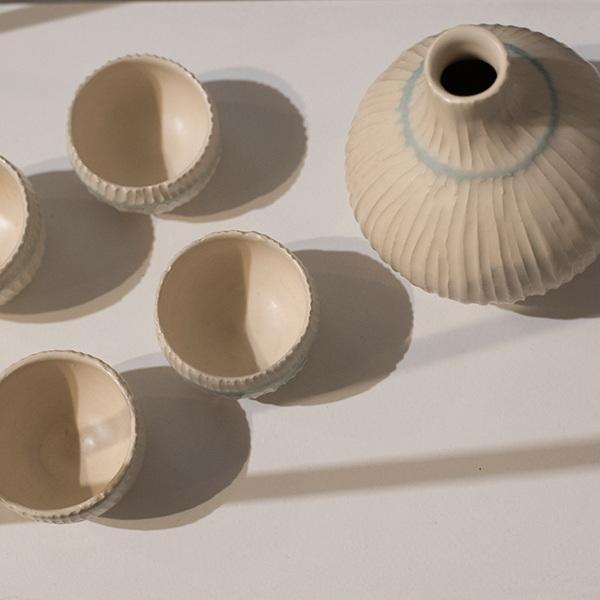 into ceramics