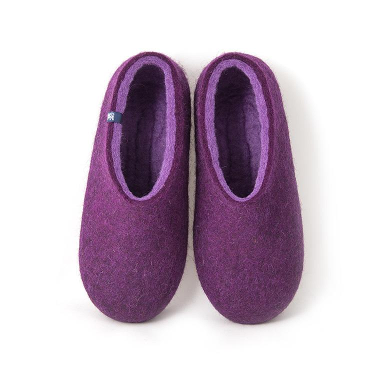 Purple slippers DUAL PURPLE lilac
