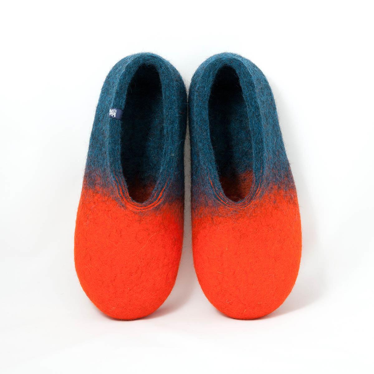 2af7b49ec828c jazz orange navy blue - colorful slippers