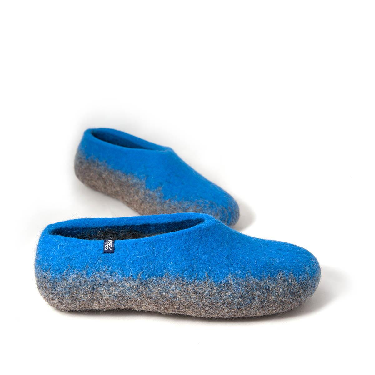7d9213c28 mens comfortable slippers in blue - Wooppers TOPS collection -e. Next