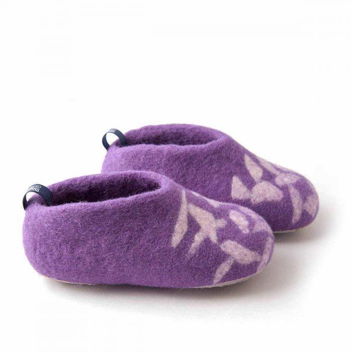 acabdaf8c21 Χειμερινές παιδικές παντόφλες BITS φούξια | Wooppers