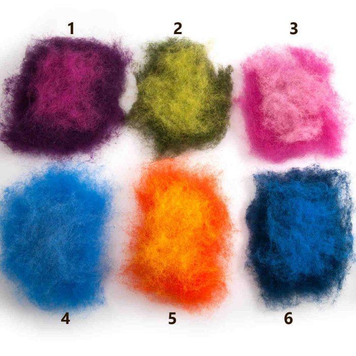 kids personalized wool slippers - six colors - sizes 20 EU to 40 EU