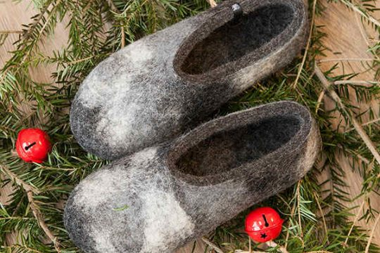ARTI winter slippers by Wooppers. The perfect Christmas gift